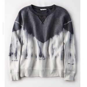American Eagle Reversible Tie-Dye Sweatshirt